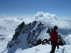 Tagesschneeschuhtour auf den Piz Kesch (3418m) | aufundab.eu