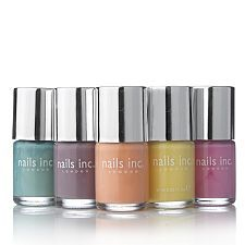 Nails Inc 5 piece Cupcake Collection. The colours remind me of Refreshers sweets.