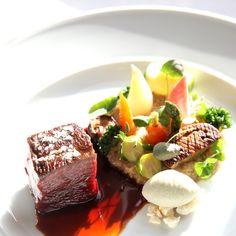 Lunch med säsongens primörer Tuna, Fish, Meat, Atlantic Bluefin Tuna, Ichthys