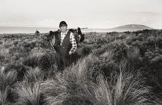 """Coming Home"" (2005) by Tasmanian Aboriginal photographer Ricky Maynard from the series ""Portrait of a Distant Land"""