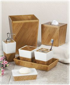bamboo bathroom accessories - Bamboo Bathroom Design