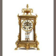 19th Century Bracket Clock by Ansonia of New York . www.snowdoniaantiques.co.uk
