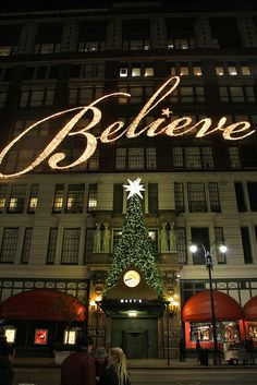NYC- Believe in Christmas | Flickr - Photo Sharing!
