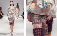 "lostinfiber: "" dawn-mccolgan | Leutton Postle knitwear details """