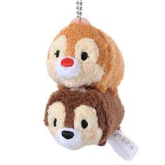 Chip and Dale Tsum Tsum key chain... yup, they are stinkin cute!