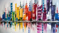 schilderijen skylines - Google zoeken