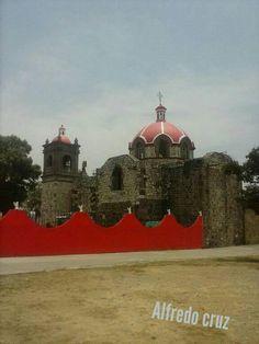 Iglesia de San Miguel Tlamahuco Tlaxcala