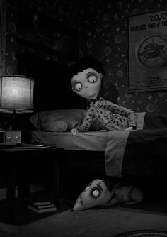 """Frankenweenie: One of my favorite movies of 2012. It's so sweet. (Plus, Tim Burton uses footage from Christopher Lee's """"Horror Of Dracula"""" in it - a very nice touch in my book.) There is something so beautiful about stop motion animation! :)"""