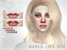 Pralinesims' Naked Lips V02 | N48