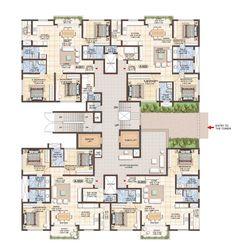 Jain Heights East Parade Floor Plan Www.bangalore5.com