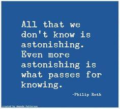 Quotable - Philip Roth