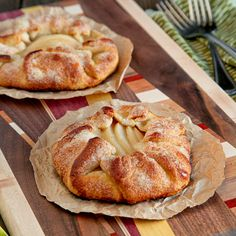 Mini Pear Galettes
