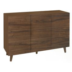 RJR.John Rocha Walnut finished 'Eclipse' large sideboard- at Debenhams.com