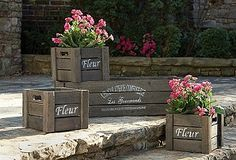 Accent your yard with these beautiful planters!!!