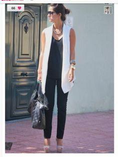 Zara Off White Cream Tuxedo Vest Sleeveless Jacket Blazer