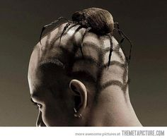 Spider Haircut
