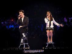 Chris Colfer & Lea Michele @ Glee Live 2011 | Flickr - Photo Sharing!