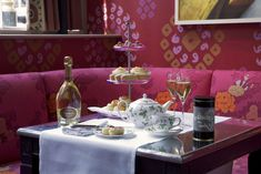 Ruinart and Miller Harris Sensory Afternoon Tea, Firmdale Hotels