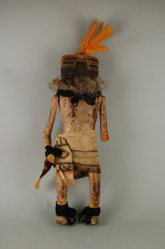 Brooklyn Museum: Arts of the Americas: Kachina Doll (Mokjachepa)