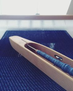 Linen and cotton twill on the rigid heddle loom.