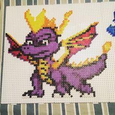 Spyro perler beads by  metteoandersen