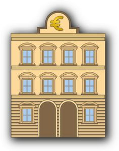 Share bank building with euro sign clipart with you friends! Description from clipart-finder.com. I searched for this on bing.com/images