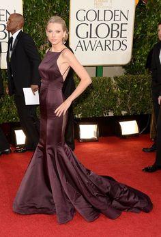 Taylor Swift in Donna Karan for Golden Globes 2013