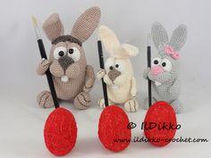 Easter Bunnies – Amigurumi Crochet Pattern |