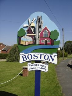 Land for sale in boston, lincolnshire Boston Town, In Boston, Posters Uk, Travel Posters, England Ireland, England Uk, Pictures Of England, Village People, English Village