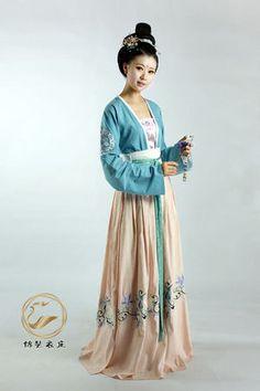 漢服-対襟襦裙