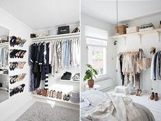 decoration, closet, small, decoração, pequeno, wardrobe, armario, roupas, clothes, style, outfits, shoes