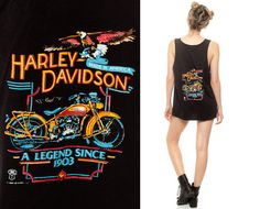 Harley Davidson Tee KEY WEST Florida Tank Top Biker by ShopExile, $57.00