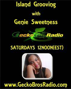 GENIE SWEETNESS: **LIVE** ISLAND GROOVING with GENIE SWEETNESS - 5/...