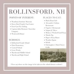 Rollinsford: Market Report - Red Post RealtyRed Post Realty