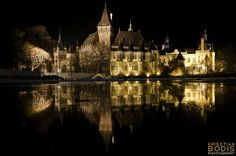 Castle of Vajdahunyad #Budapest #Hungary