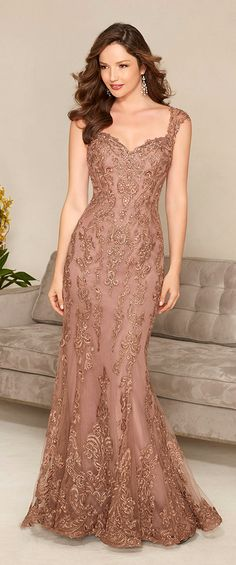 a1d298739 Fabulous Mermaid Tulle Sweetheart Neckline Floor-length Mother of the Bride  Dresses Copper Wedding Decor