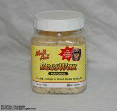 Kristins lille blogg: Kort med beeswax