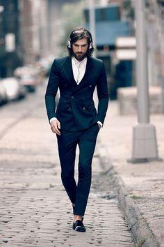 Suit and Headphones, Men'S S, Men Style, Mens Fashion, Men Fashion