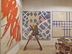 sandra blow artist - Bing Images Bing Images, Abstract Art, Shed, Studio, Wall, England, Painting, Artists, London