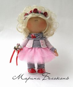 Ткани для кукол Тильда и рукоделия