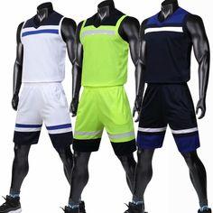 567d6c325 Men Basketball Uniforms Set Mens Sports Suits Quick Dry Custom Mens Cheap  College Throwback Basketball Team Game Jerseys Set