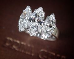 GABRIELLE'S AMAZING FANTASY CLOSET | Three Stone Marquise Diamond Engagement Ring from | You can see the rest of the Outfit and my Remarks on this board. - Gabrielle