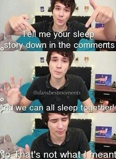 We know what you meant Dan. XD We've all been there.