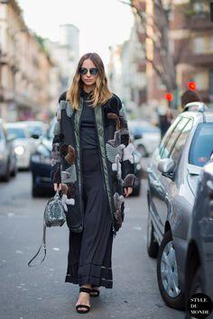 Milan Men's FW15 Street Style: Candela Novembre