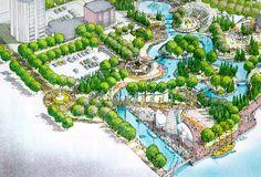 water park master plan - Google Search