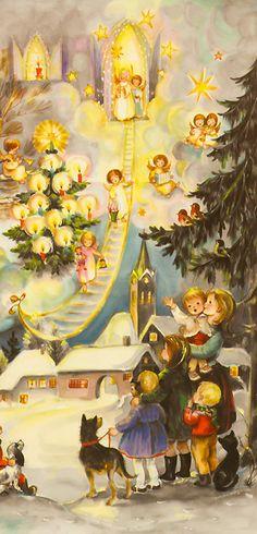Christmas advent calendar from Germany