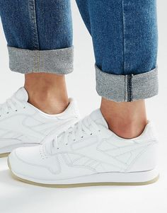 da173aec6492 Image 1 of Reebok Classic White Sneakers With Crepe Sole Mode Tendance,  Sneakers Femme,