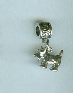 Scottie Dog beads