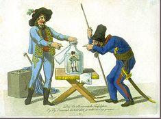 """""""The Little Cartesian Devil"""": German Peasants Capturing the Little Devil Napoleon"""