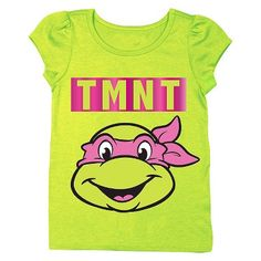 Teenage Mutant Ninja Turtles Infant Toddler Girls' Short Sleeve Tee in 2T.... Ava needs this for her big brother's party! And just to have :-)